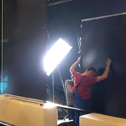 пример светодиодного лед экрана для сцены