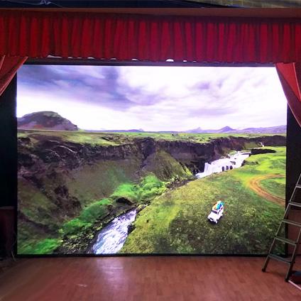 Светодиодный LED экран MEVY для сцены Люберецкого театра кукол г.Люберцы