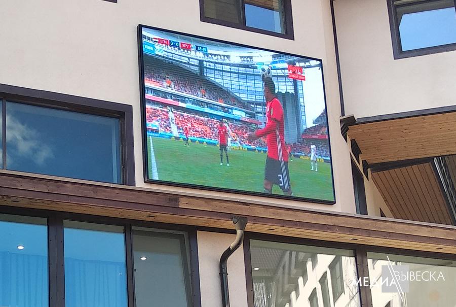 P5 Светодиодный экран LED MEVY всепогодный с шагом пикселя 5мм 1кв.м