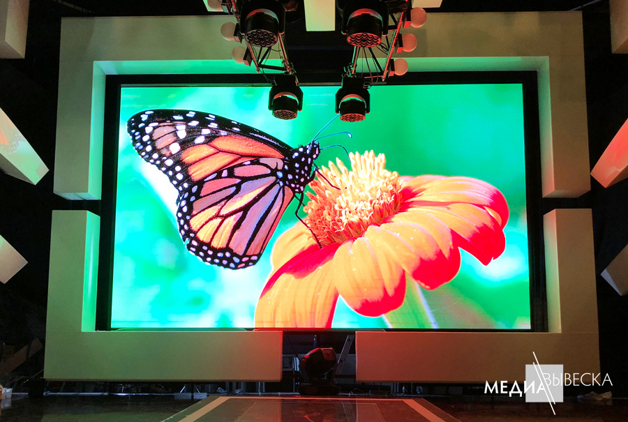 P2.5 Светодиодный экран LED MEVY для помещений с шагом пикселя 2.5мм 1кв.м