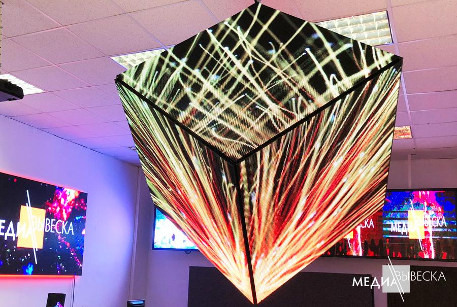 Светодиодный LED куб
